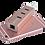 Thumbnail: Macbook USB-C to USB 3.0 + HUB adapter (silver)