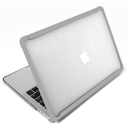 Apple macbook air pro retina touchbar 11 12 13 14 15 16 inch grey shock drop dent proof case cover protector shell