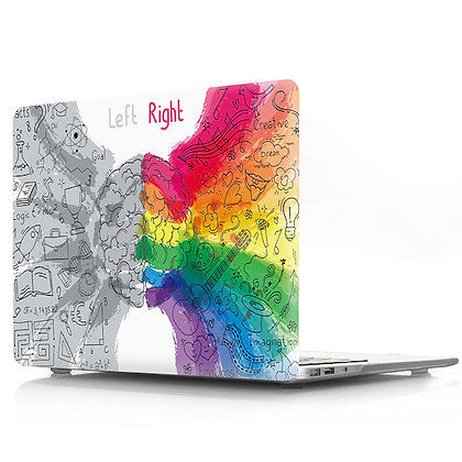 left grey right rainbow brain macbook air pro retina 11 12 13 15 case cover malaysia