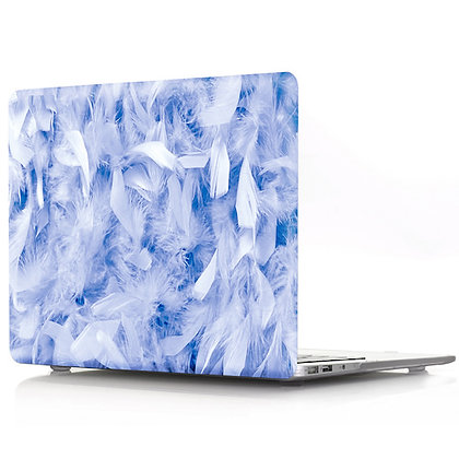 blue feather macbook air pro retina 11 12 13 15 design case cover malaysia