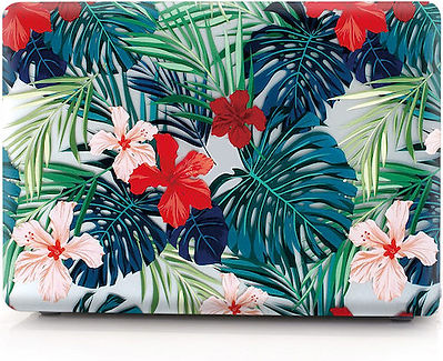macbook air pro retina touchbar 11 12 13 15 flower designer case cover malaysia