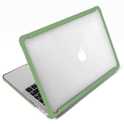 Apple macbook air pro retina touchbar 11 12 13 14 15 16 inch army green shock drop dent proof case cover protector shell