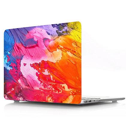 rainbow graffiti macbook air pro retina 11 12 13 15 design case cover malaysia