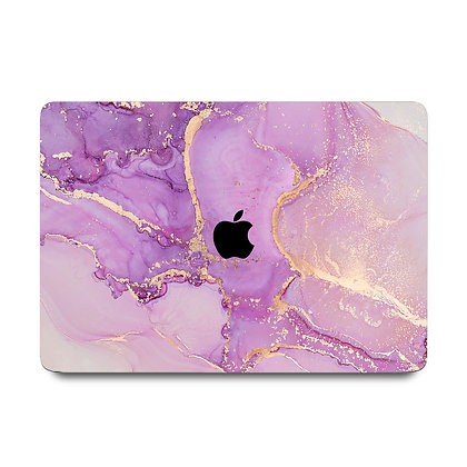 """apple macbook air pro retina touchbar 11 12 13 14 15 16"""" inch pink marble case cover protector malaysia"""