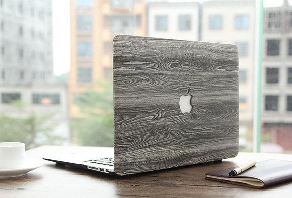 grey cedar Wood macbook air pro retina 11 12 13 15 case cover malaysia