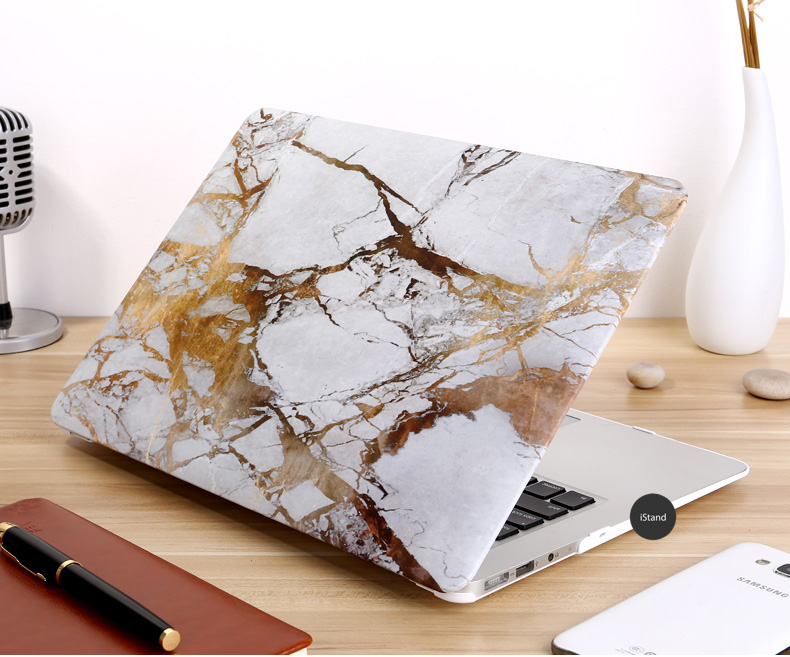 Marble gold white