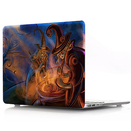 witches macbook air pro retina 11 12 13 15 design case cover malaysia