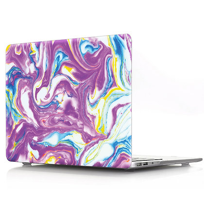 purple wave marble macbook air pro retina 11 12 13 15 case cover malaysia