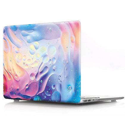 rainbow water wave macbook air pro retina 11 12 13 15 design case cover malaysia