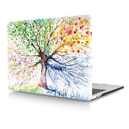 rainbow tree macbook air pro retina 11 12 13 15 design case cover malaysia