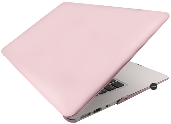 iStand Macbook rose gold case