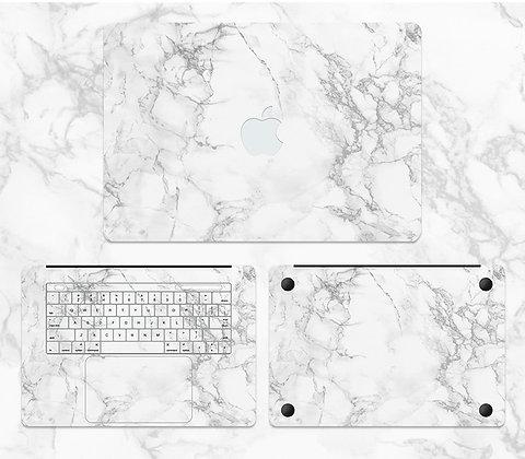 apple macbook pro air retina touchbar 11 12 13 15 inch decal skin sticker marble
