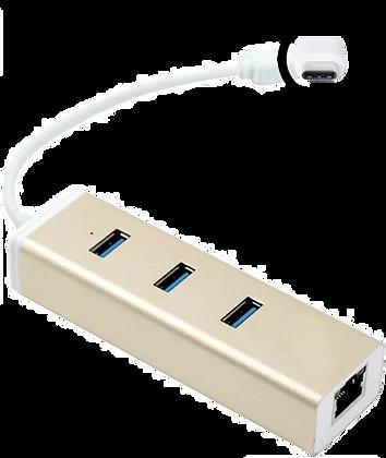 Macbook USB-C to USB 3.0 + HUB adapter (champ)
