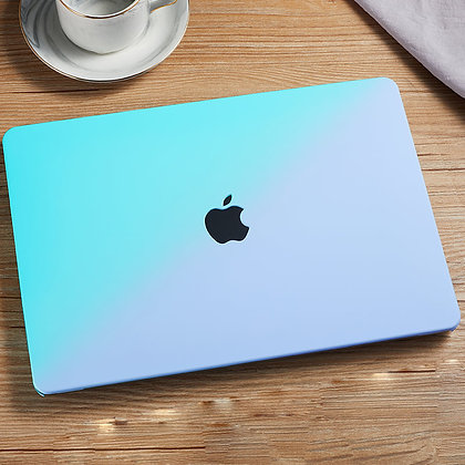 apple macbook air pro retina touchbar 11 12 13 14 15 16 inch m1 tiffany blue gradient case cover protector