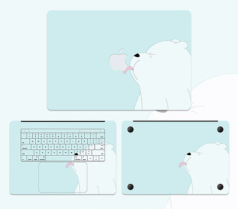 apple macbook pro air retina touchbar 11 12 13 15 inch decal skin sticker cute