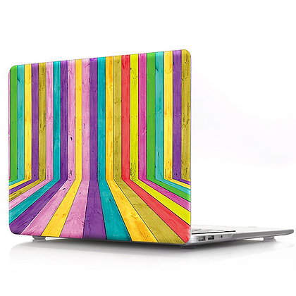 rainbow wood macbook air pro retina 11 12 13 15 case cover malaysia