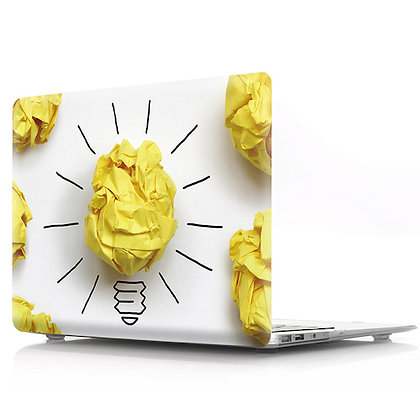 paper light bulb macbook air pro retina 11 12 13 15 design case cover malaysia