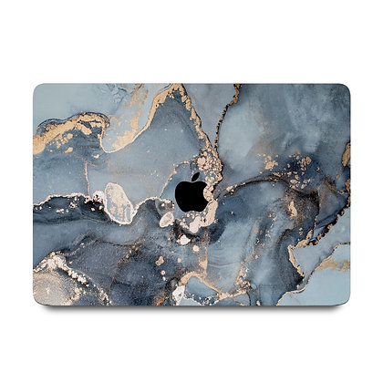"apple macbook air pro retina touchbar 11 12 13 14 15 16"" inch blue ocean marble case cover protector malaysia"