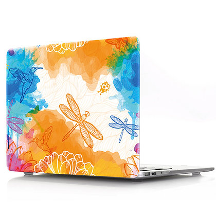 rainbow dargon fly macbook air pro retina 11 12 13 15 design case cover malaysia