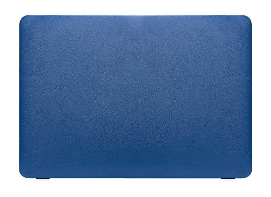 apple macbook air pro retina touchbar 11 12 13 14 15 16 inch blue leather case cover protector