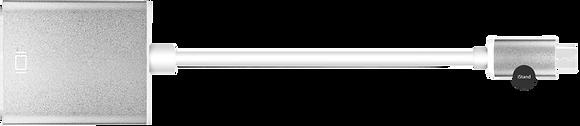 Macbook thunderbolt to VGA- Aluminium silver