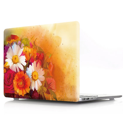 yellow floral flower macbook air pro retina 11 12 13 15 case cover malaysia