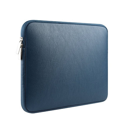 Dark blue simple leather sleeve 11 12 13 15 inch malaysia