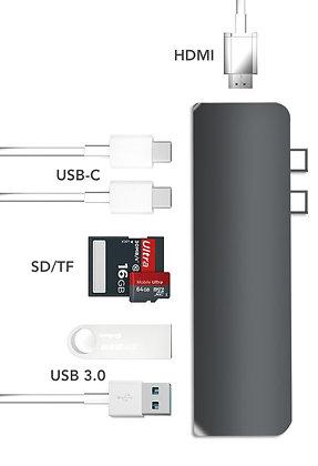 USB-C HUB 7 in 1 HDMI (wireless)