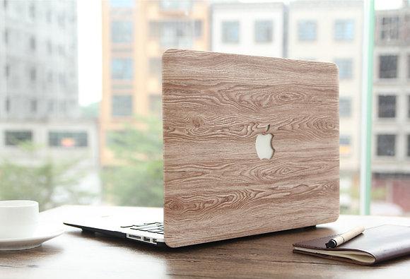 brown cedar Wood macbook air pro retina 11 12 13 15 case cover malaysia