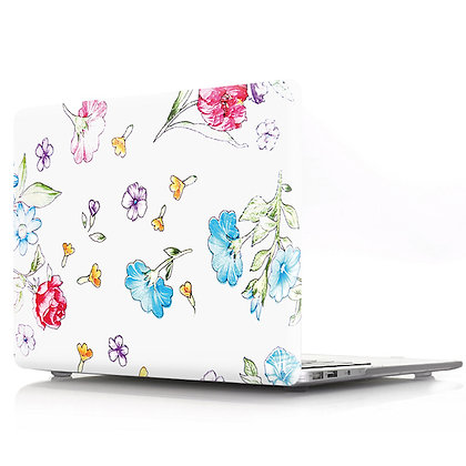 cartoon floral flower macbook air pro retina 11 12 13 15 case cover malaysia