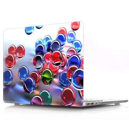 rainbow marble ball macbook air pro retina 11 12 13 15 design case cover malaysia