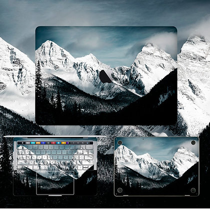 apple macbook pro air retina touchbar 11 12 13 15 inch decal skin sticker mountain