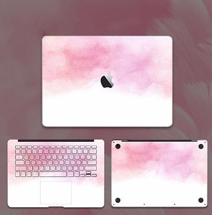 apple macbook pro air retina touchbar 11 12 13 15 inch decal skin sticker pink cloud sky