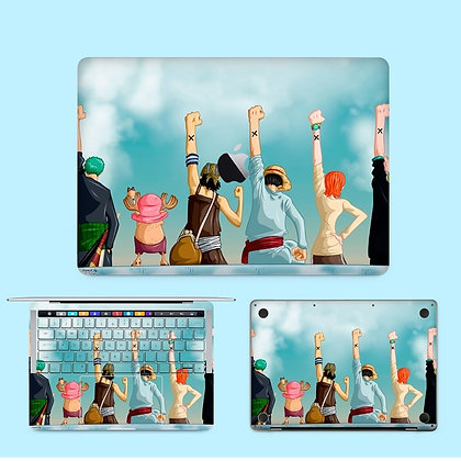 apple macbook pro air retina touchbar 11 12 13 15 inch decal skin sticker one piece 海盗王