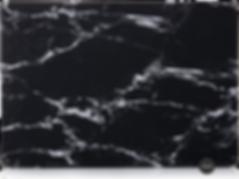 Macbook black marble case