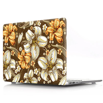 lily floral flower macbook air pro retina 11 12 13 15 case cover malaysia
