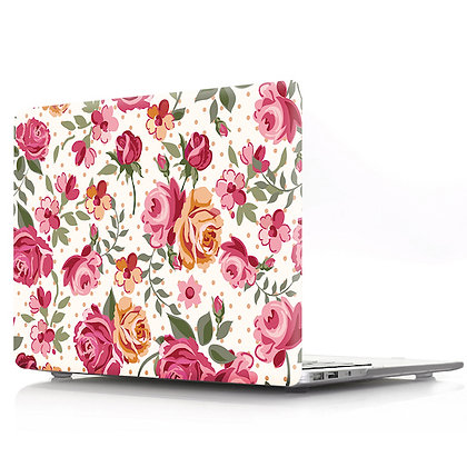 rose floral flower macbook air pro retina 11 12 13 15 case cover malaysia