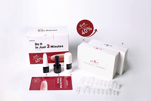 Kit Extension Uñas Gel Ultrafinas X 200 K O G Postizas