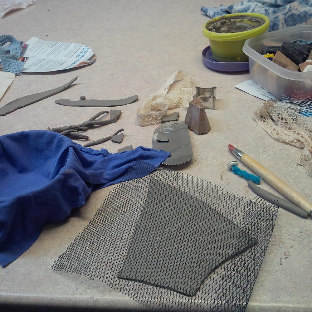 Using up scraps to make bowls