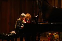 Debbie with Effie Teaching  at Berkeley