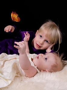ungbarnamyndir systkini