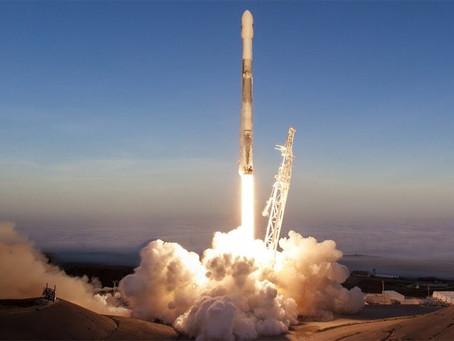 O que o Falcão nos céus simboliza para alcançarmos o espaço?