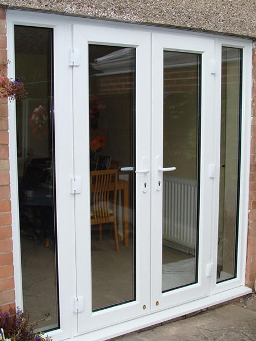 French door sidelites interior french doors sidelights - Exterior french doors with sidelights ...