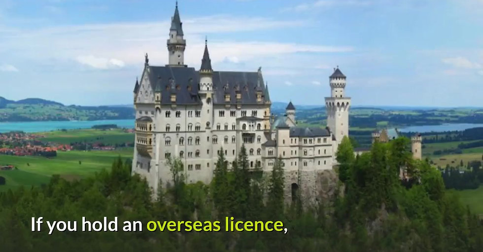 This video explains all about DRIVING IN NEW SOUTH WALES ON AN OVERSEAS LICENCE