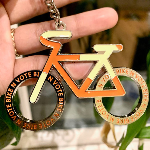 Bike N Vote Key Chain