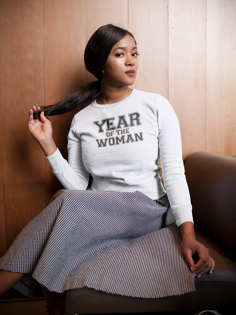 YEAR OF THE WOMAN collegiate