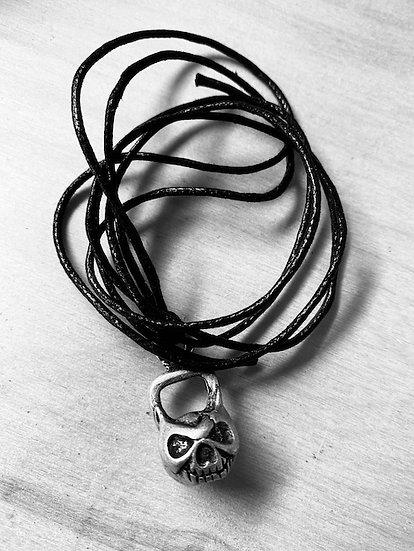 Ciondolo Skull Kettelbell