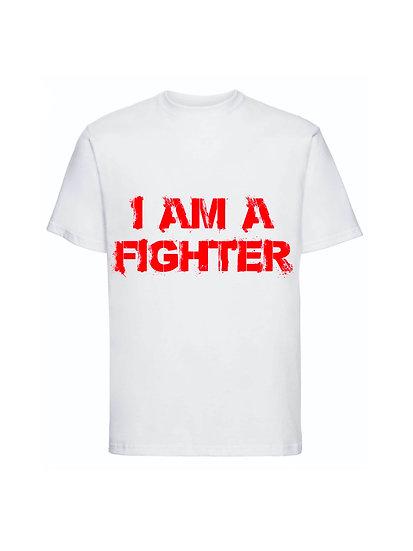 Maglia Bianca I am a Fighter Unisex 2021