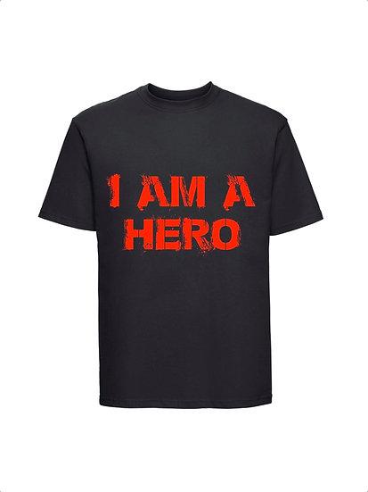 Maglia Nera I am a Hero Unisex 2021