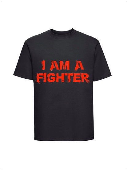 Maglia Nera I am a Fighter Unisex 2021